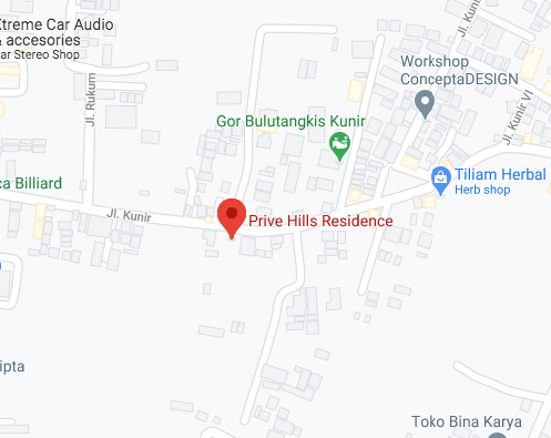 Prive Hills Residence Maps